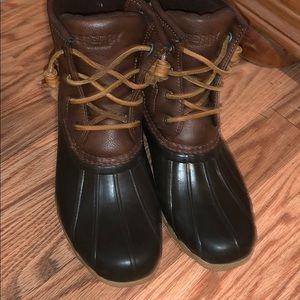 Kids sperry boot